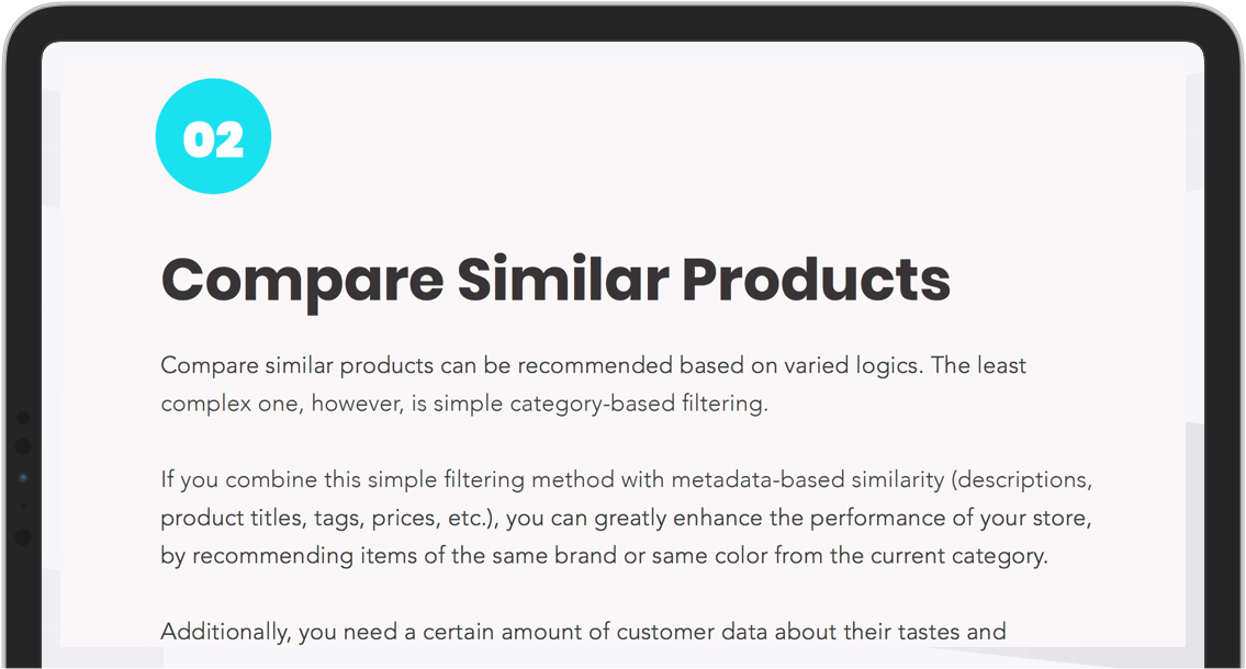 Anticipate What your Customer Buys with Product Recommendation Engines