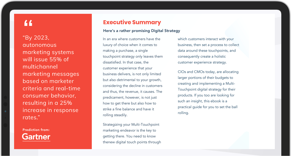 How to Build & Execute a Multi-Touchpoint Digital Strategy